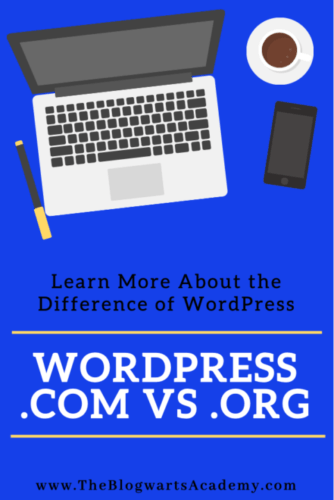 Understanding the difference between wordpress.com and wordpress.org.