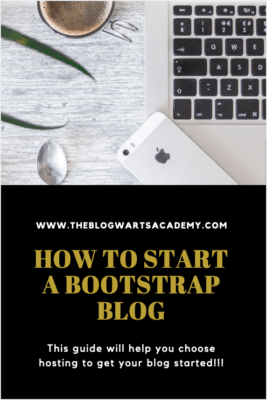 How to Start a Bootstrap Blog