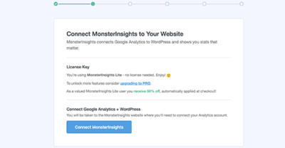 MonsterInsights analytics