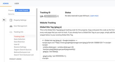 MonsterInsights Google analytics