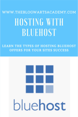 Start a blog with Hosting with Bluehost