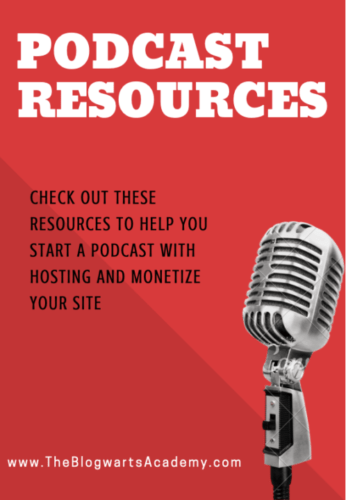 Blogwarts Academy Podcast Resources