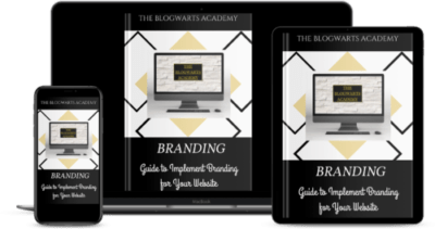 Blogwarts Academy Branding Guide e devices