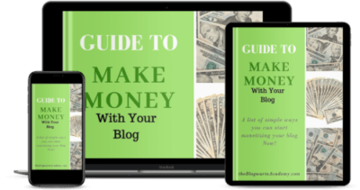 Blogwarts Academy Guide to Make money e devices