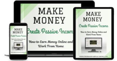 Blogwarts Academy Make Money with Passive Income e devices