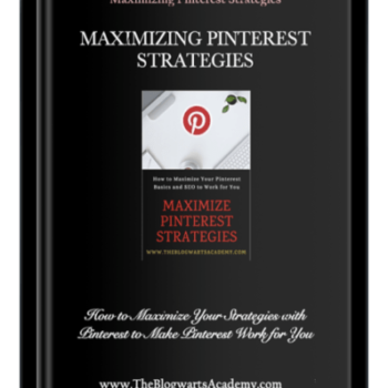 Blogwarts Academy Maximizing Pinterest Strategies ebook device