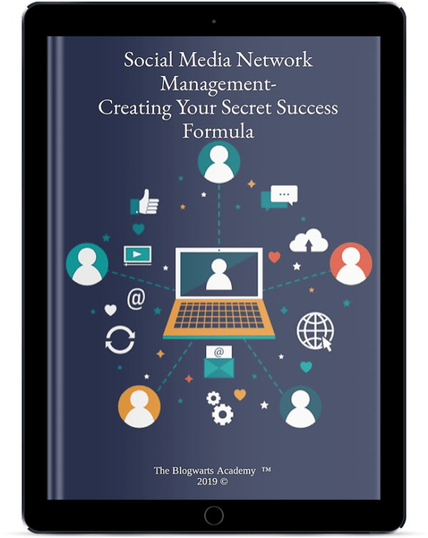 Blogwarts Academy Social media Network Management ebook device