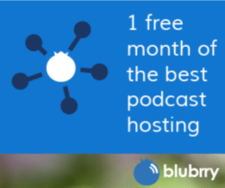 blueberry podcasting