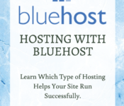 Hosting with Bluehost
