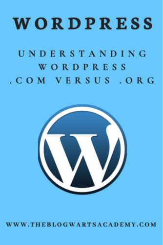 For the Love of WordPress!​ Understanding the difference between wordpress.com and wordpress.org.