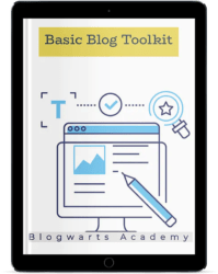 Blogwarts Academy Basic Blog Toolkit Reader